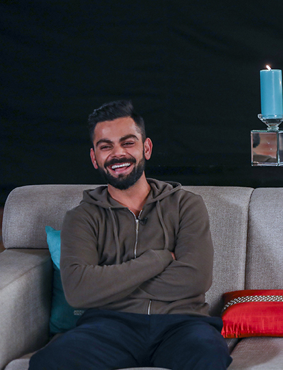 Six from the moment it left the bat – Gionee's masterstroke with Virat Kohli