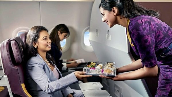 Up in the air: Travellers share their favourite moments on a Vistara flight
