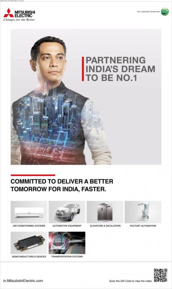 Mitsubishi Electric's new campaign portrays aspirations of a new India