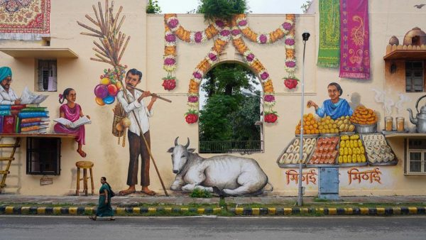 Murals give Lodhi Colony a new identity