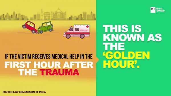The dilemma of helping a road accident victim