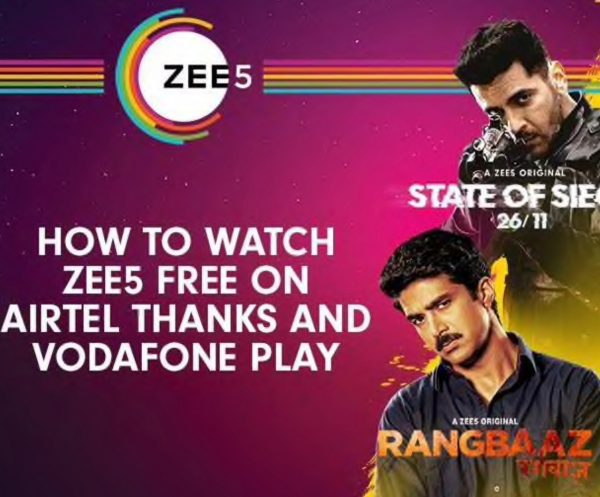 Airtel and Vodafone users, rejoice! ZEE5 has some great news for you