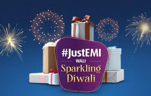 Last minute Diwali shopping? #JustEMI for Bajaj Finserv Diwali Offers