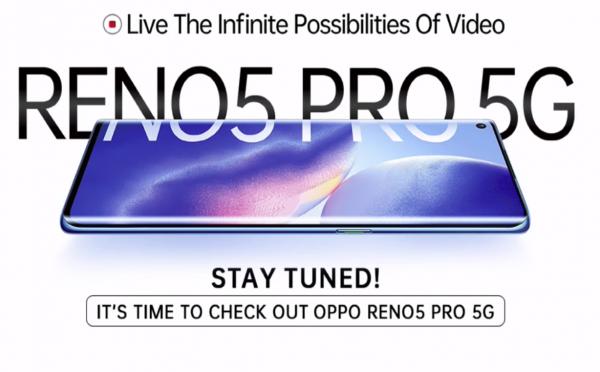 OPPO RENO5 PRO 5G I Live Event