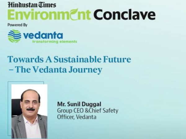 Towards a sustainable future: The Vedanta journey